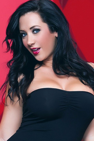 Jayden Jaymes in 'Black Dress' via Jayden Jaymes XxX