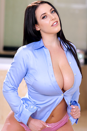 Angela White in 'Bubble Bath' via Reality Kings