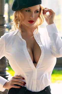 Jordan Carver in 'O La La' via Jordan Carver's Official Site