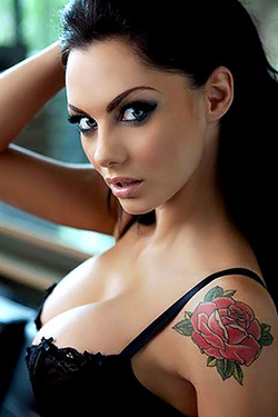 Jessica Jane Clement in 'Amazing' via Nuts Magazine