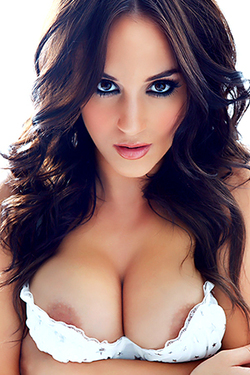 Rosie Jones in 'Brilliant Breasts' via Nuts Magazine