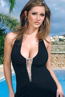 Lucy Pinder in 'Poolside Hottie' via GossipMembers