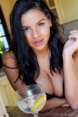 Lacey Banghard in 'Ice Cubes' via Hayley's Secrets