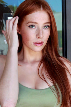 Madeline Ford in 'Busty Redhead Beauty' via Mr Skin