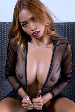 Cruzlyn in 'Exotic Tits' via Photodromm
