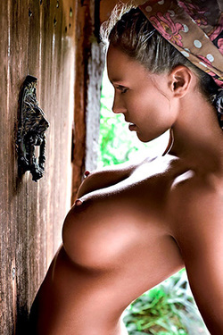 Iza Sala in 'Meanwhile On The Countryside' via Playboy