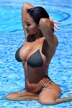 Daphne Joy in 'BFFs Taking Wet Photos Of Each Other' via Celeb Matrix
