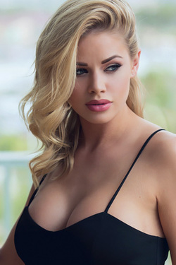 Jessa Rhodes in 'Sexy Black Dress' via Jessa Rhodes Official
