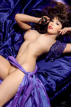 Claire Sinclair in 'Pinup Babe' via Playboy