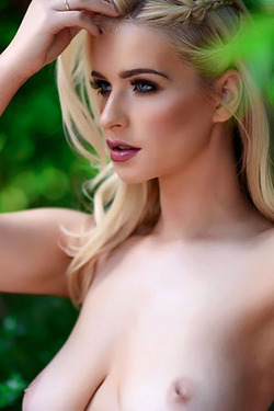 Jess Davies in 'Blonde Bombshell' via Jess Davies Official
