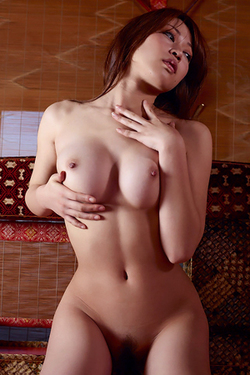Rie in 'Oriental Tits' via Hegre-Art
