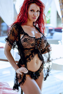 Bianca Beauchamp in 'Sexy Black Lace' via Bianca Beauchamp Official