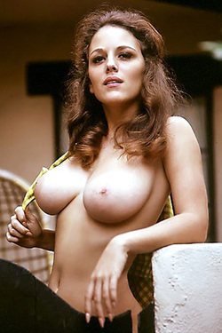 Michelle Hamilton in 'Retro Tits' via Playboy