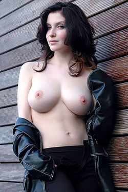 Maja in 'Busty German Teen' via Mr Skin