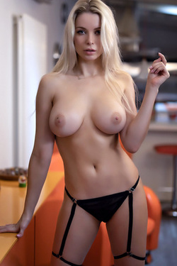 Katya Enokaeva in 'Hot Blonde' via Photodromm