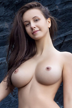 Alisa I in 'Cliffside Nudes' via Femjoy