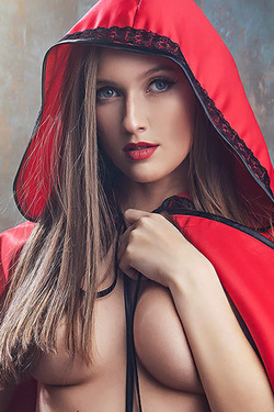 Stacy Cruz in 'Red Riding Hood' via VR Cosplay X