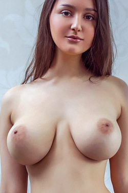 Adeline in 'Busty Newcomer' via Met-Art