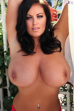 Sarah Randall in 'Huge Tits' via Pinup Files