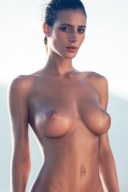 Alejandra Guilmant in 'Emmy Rossum Vibe' via Playboy