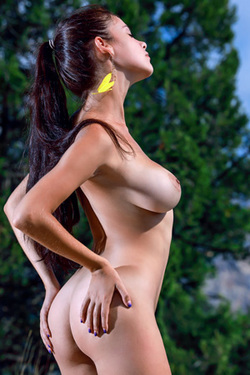 Martina Mink in 'Outdoor Nudity' via Met-Art